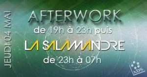 AfterWork + Soirée à la Salamandre